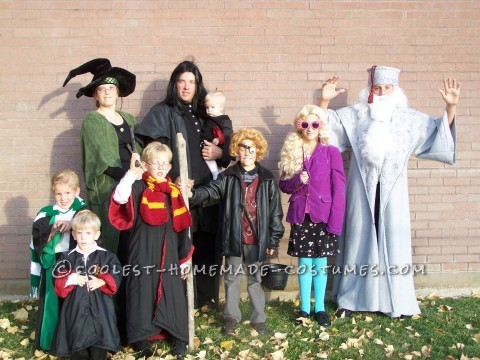 Coolest Harry Potter Family Halloween Costume