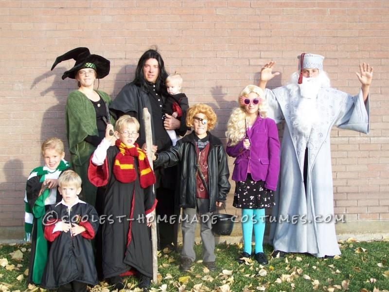 Potter Family Halloween