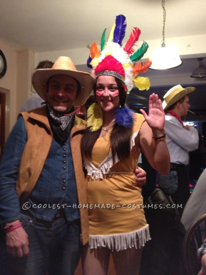Cool Homemade Native Indian Costume