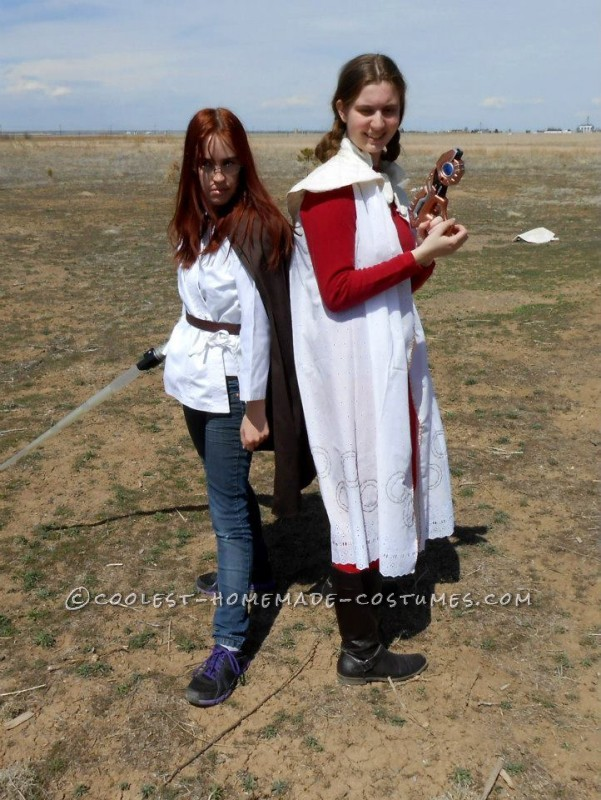 Unusual Homemade Leia Star Wars Costume - Cloud City Bespin Costume