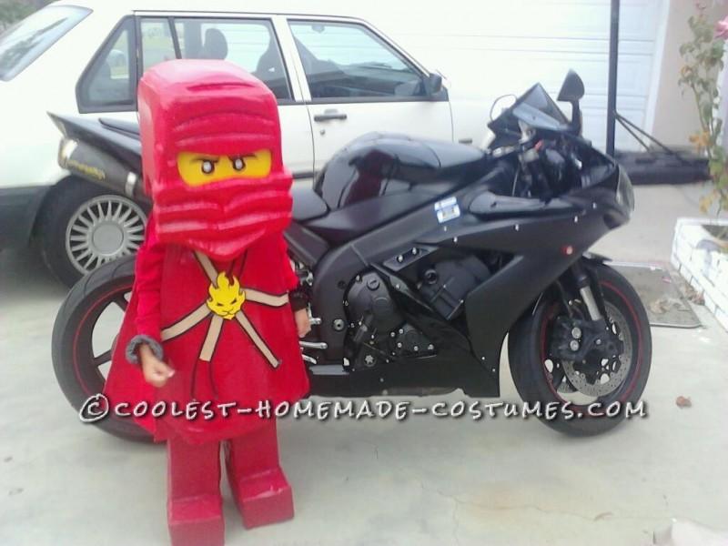 Coolest Ninjago KAI Halloween Costume