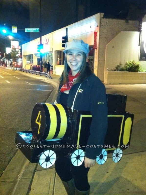 "Cute ""Ride the Rails"" Adult Train Costume"