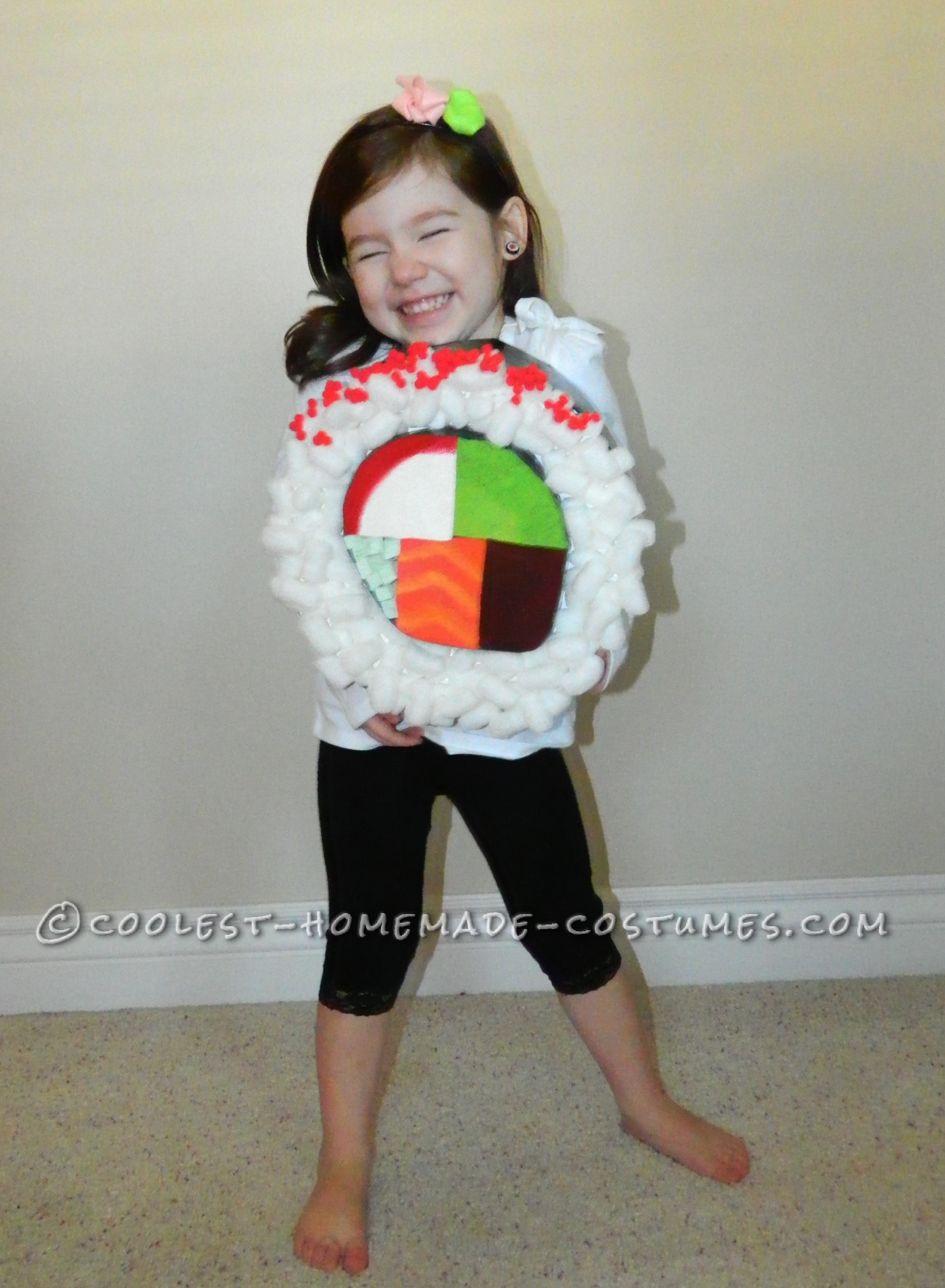 Coolest Sushi Roll Costume for Kids!