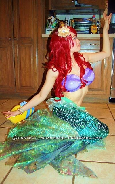 Coolest Ariel the Little Mermaid Halloween Costume - 2