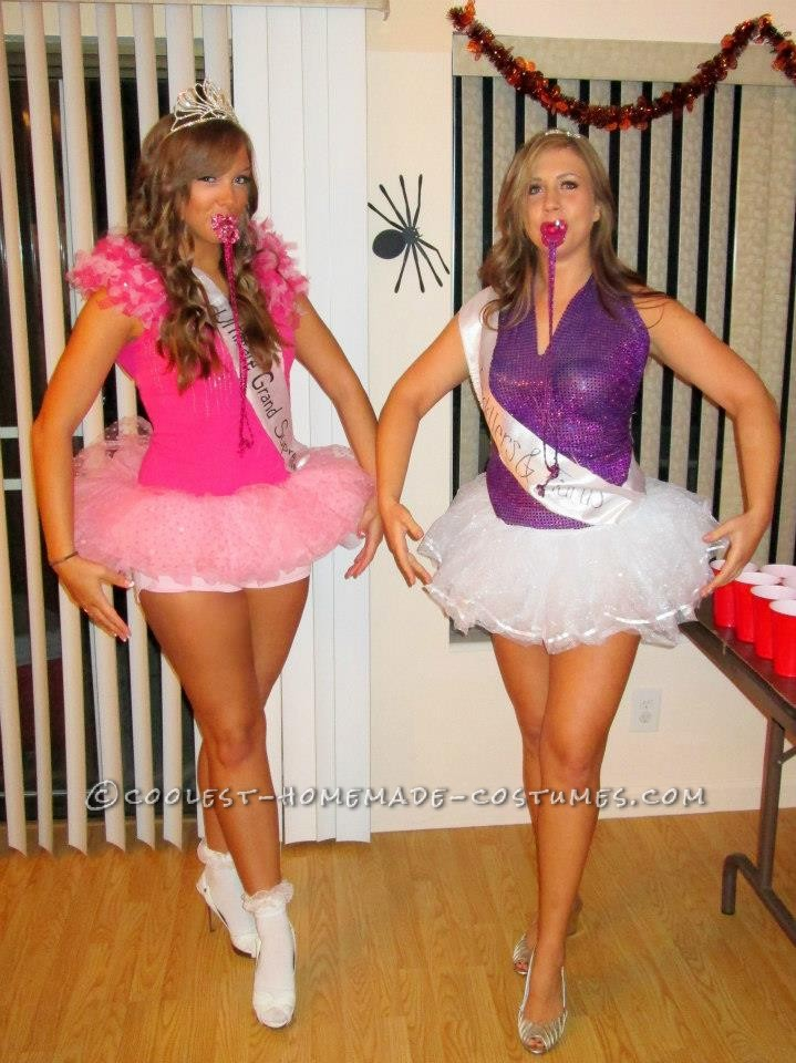 Sexy Toddlers and Tiaras Girls Couple Costume