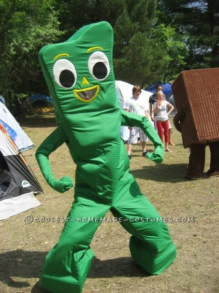 Coolest Homemade Gumby Halloween Costume