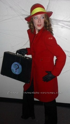 Awesome and Easy Carmen Sandiego Costume
