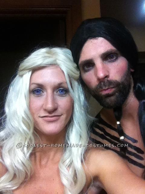 Awesome Couples Halloween Costume: Daenerys Targaryen and Khal Drogo - 1