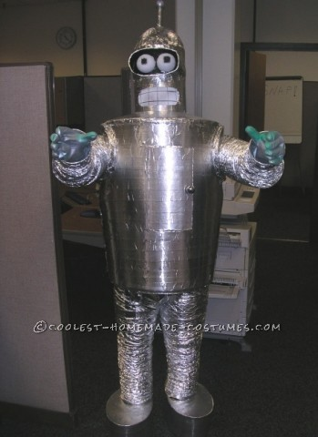Homemade Bender (Futurama) Halloween Costume