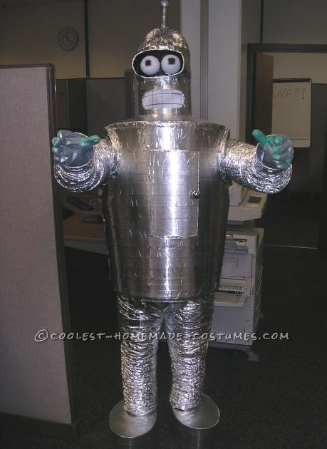 Homemade Bender (Futurama) Halloween Costume