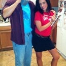Coolest Saved by the Bell Homemade Couples Halloween Costume