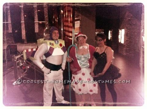 Homemade Buzz Lightyear Halloween Costume