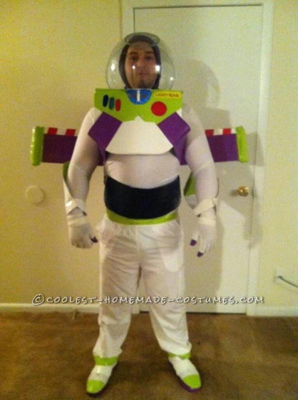 Homemade Buzz Lightyear Halloween Costume - 3