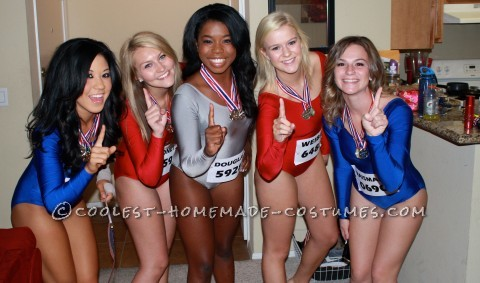 Fab 5 Team USA - Girls Group Costume