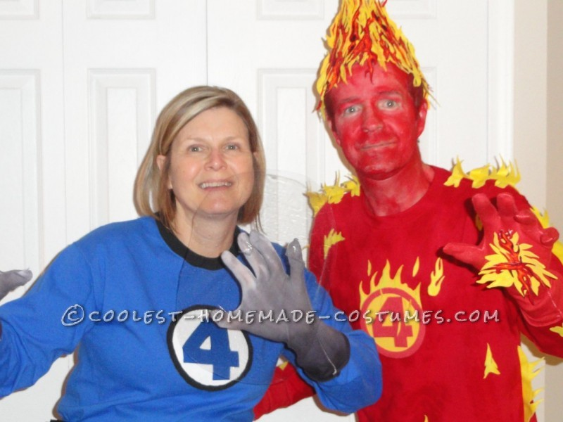 Fantastic Four Couples Costume - 2