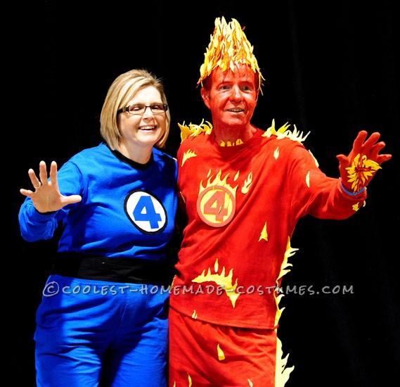 Fantastic Four Couples Costume