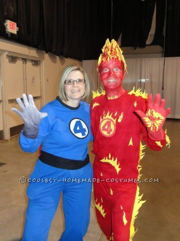Fantastic Four Couples Costume