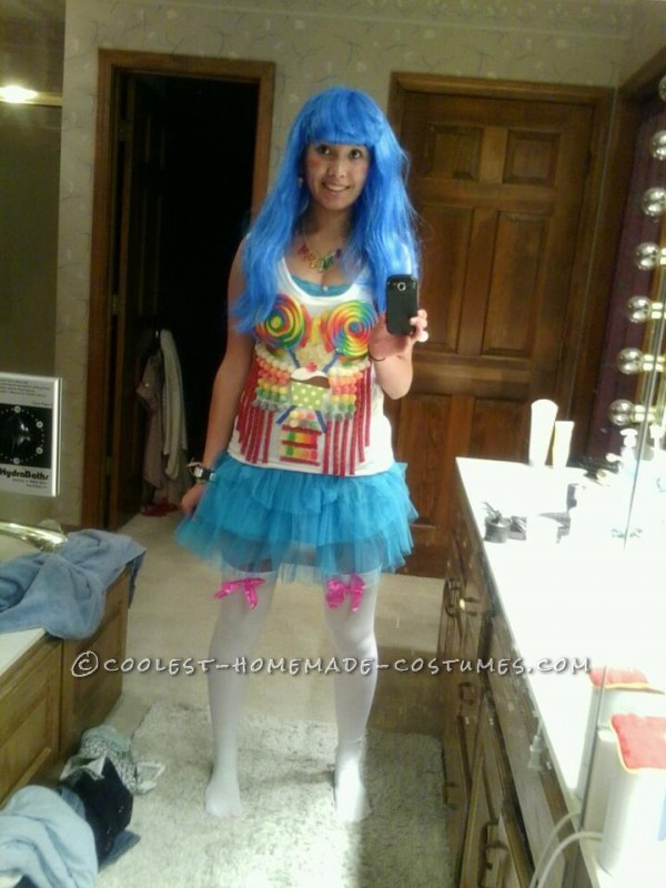 real candy katy perry costume