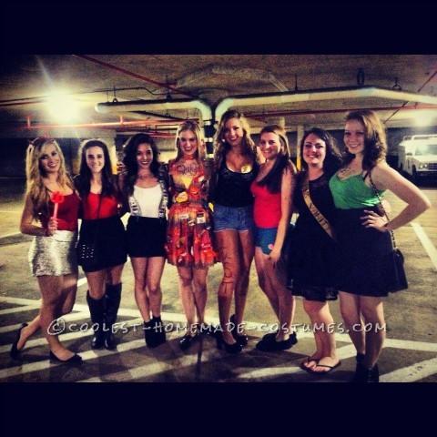 Seven Deadly Sins Girl Group Halloween Costume