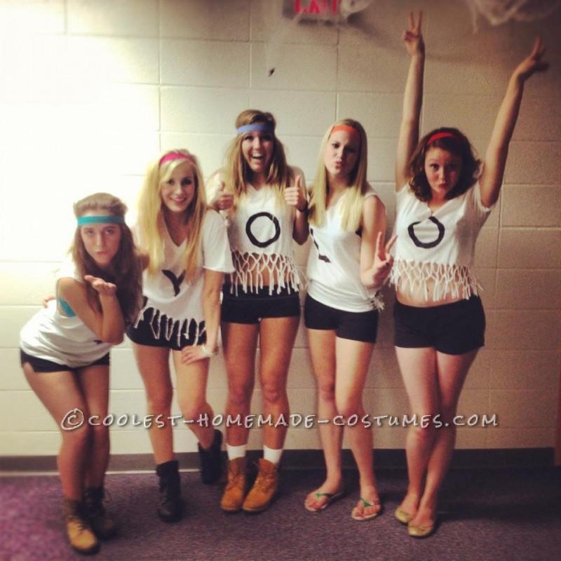 #YOLO Funny Girl Group Costume - 1