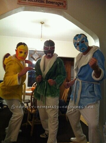 """Coolest Group Costume from the Movie """"3 Ninjas"""""""