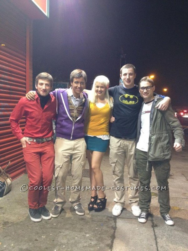 Coolest Homemade Big Bang Theory Group Costume