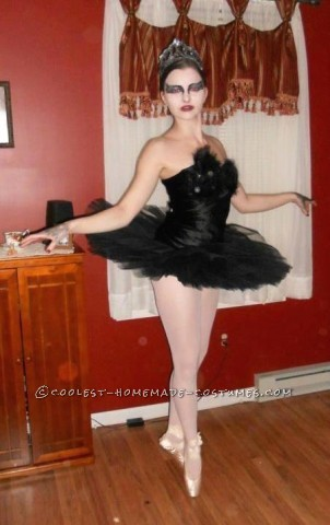 Homemade Black Swan Halloween Costume