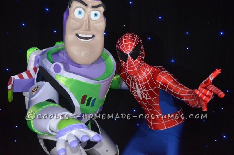Having fun with Spiderman