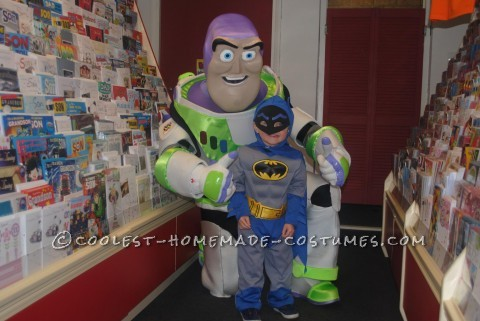 Amazing Homemade Buzz Lightyear Costume
