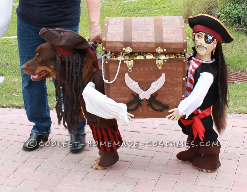 Jack Sparrow and his Pirate and their Booty!