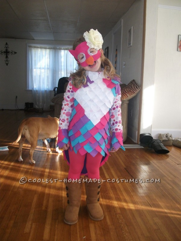 Coolest Girls Owl Halloween Costume