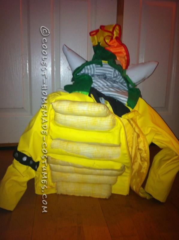 Homemade Kids Bowser Costume