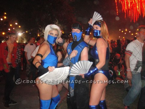 Homemade Mortal Kombat Princess Kitana Halloween Costume