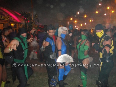 Homemade Mortal Kombat Princess Kitana Halloween Costume