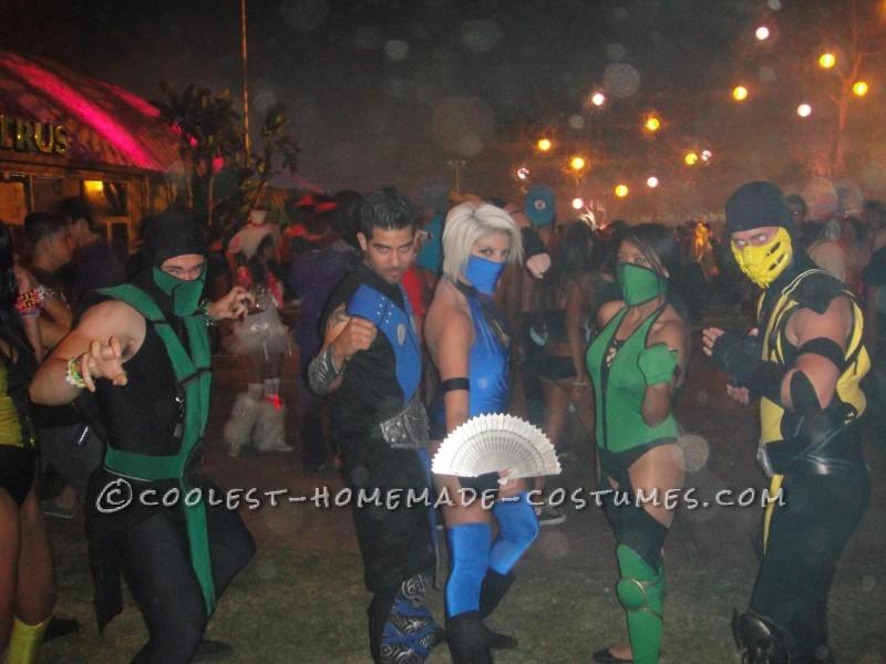 Reptile, Sub Zero, Kitana, Jade & best Scorpion #2 @ Escape From Wonderland