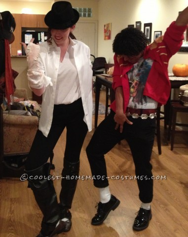 Black and White Michael Jackson Costume