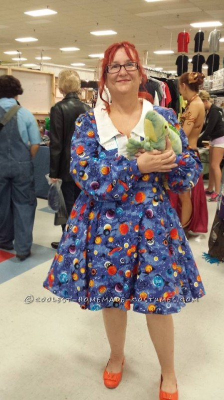 Coolest Homemade Ms. Frizzle Costume
