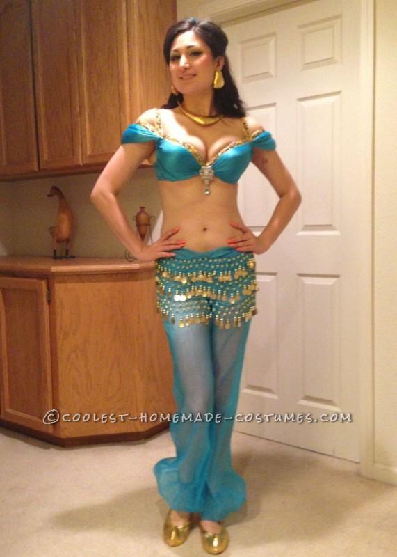 Outstanding Princess Jasmine Costume