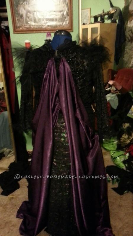 back o the dress