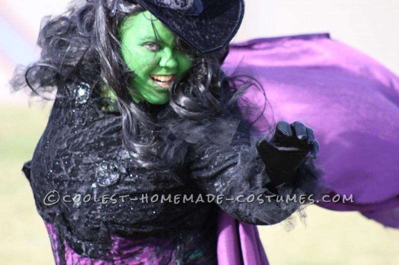 Cooelst Homemade Elphaba Wicked Witch of the West Costume