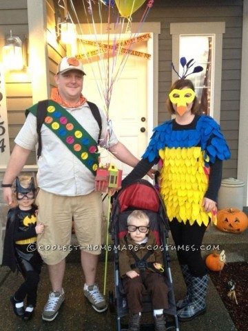 Coolest Homemade Up Family Costume