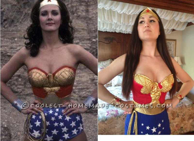 Great Homemade Wonder Woman Costume