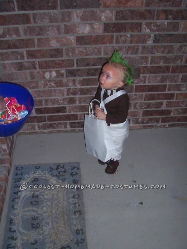 1 Year Old Easy Oompa Loompa Costume