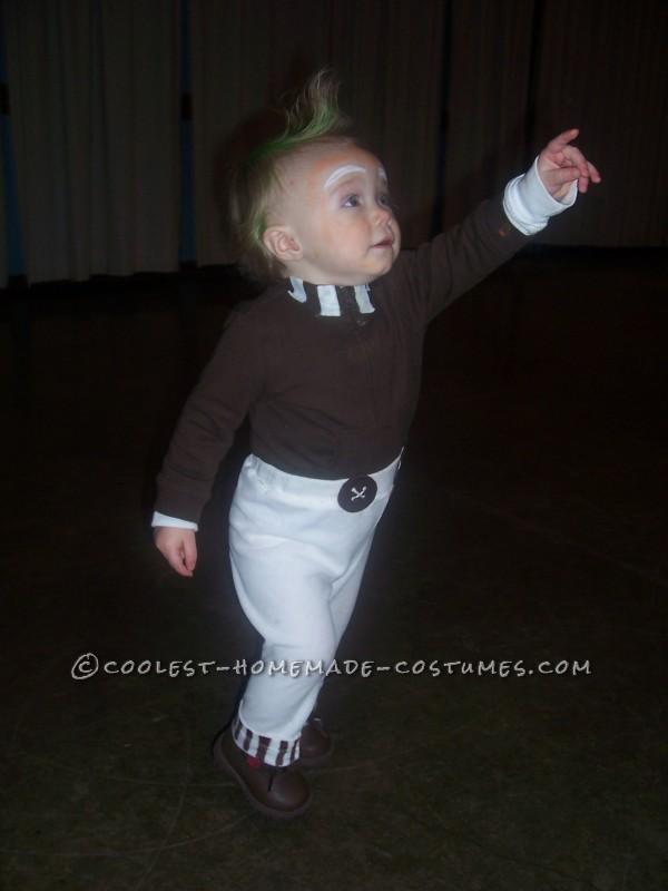1 Year Old Easy Oompa Loompa Costume - 2