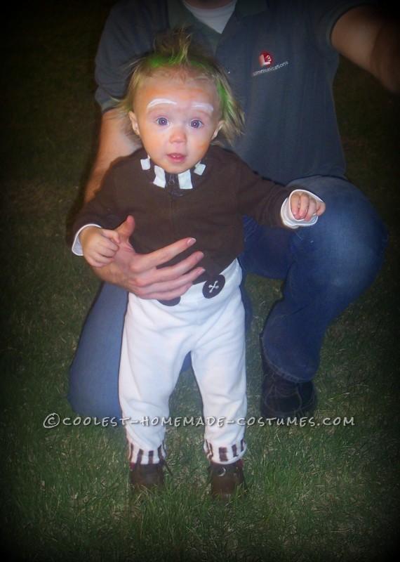 1 Year Old Easy Oompa Loompa Costume - 1