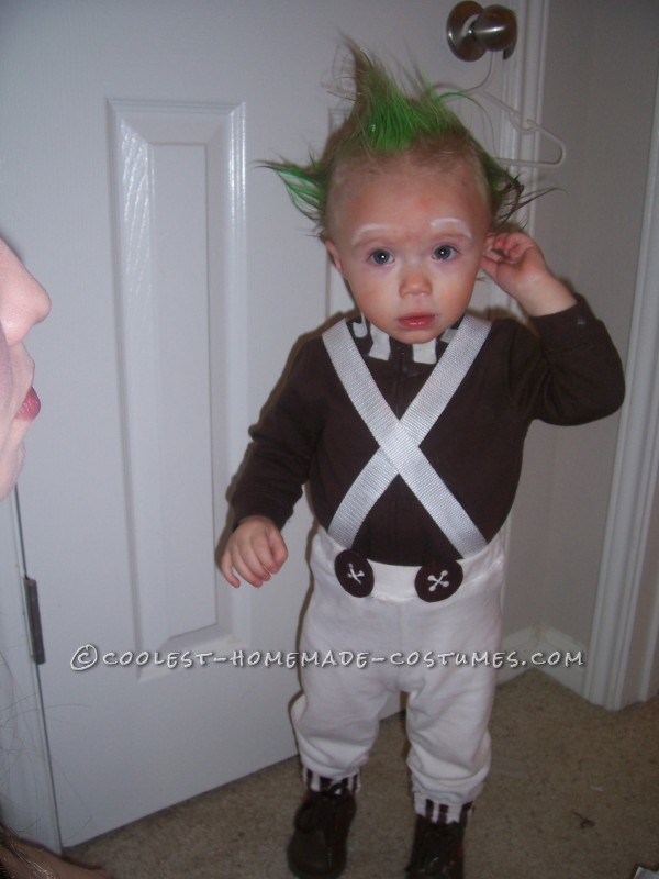 1 Year Old Easy Oompa Loompa Costume