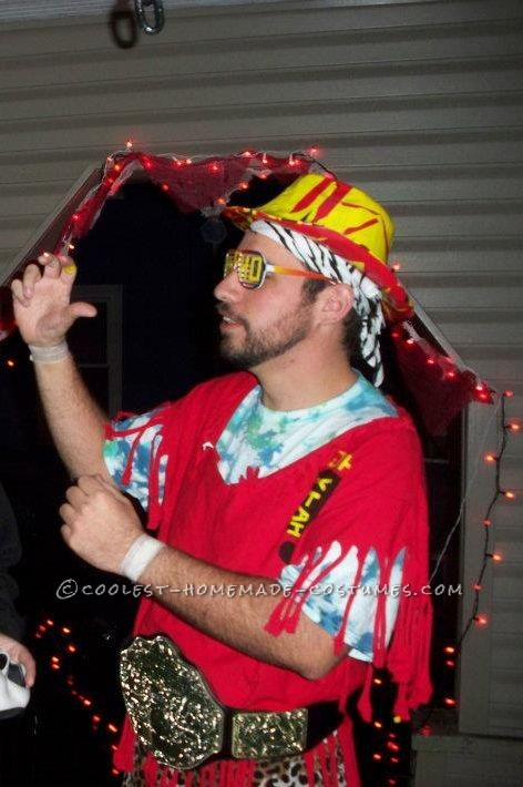 Homemade Macho Man Randy Savage Costume made from Scratch