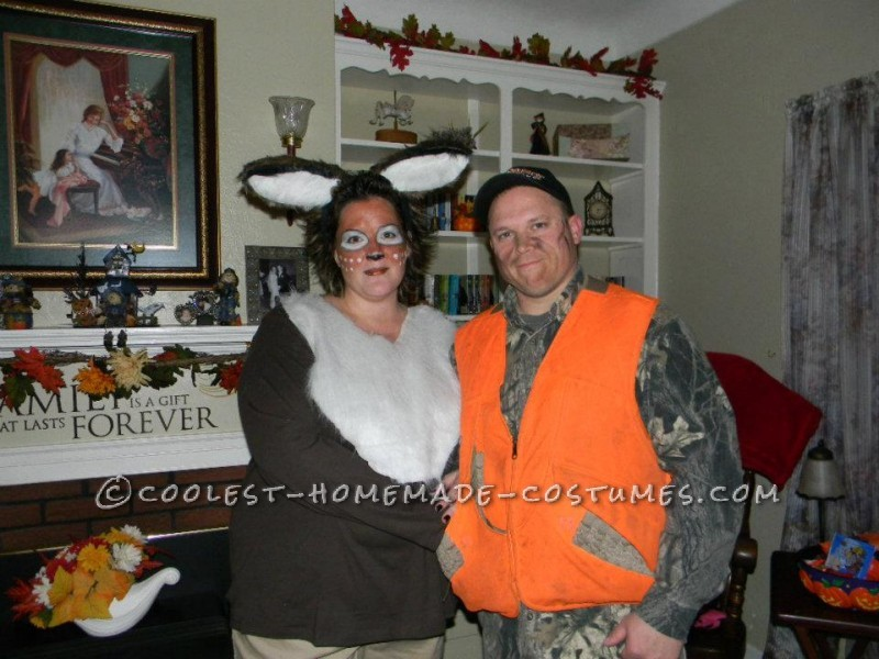 Hunter and his doe Halloween costume