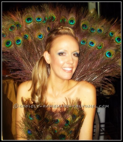 Quick and Easy Sexy Peacock Costume