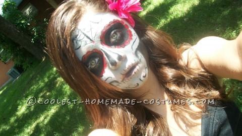 Boredom Kills - Homemade Girl Dia de los Muertos Halloween Costume